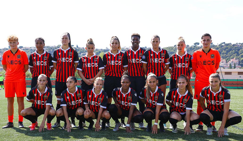 Effectif OGC Nice 2020/2021, équipe feminines