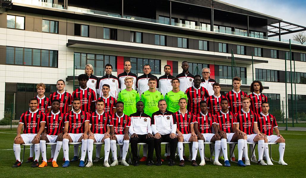 Effectif OGC Nice 2013/2014, équipe u19
