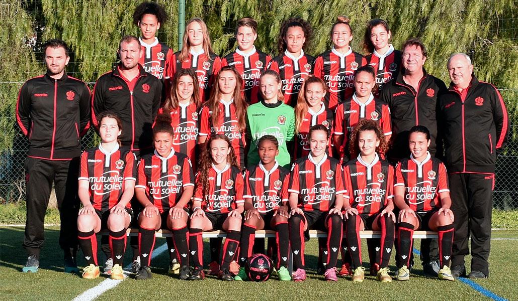 OGC Nice U17 Féminines