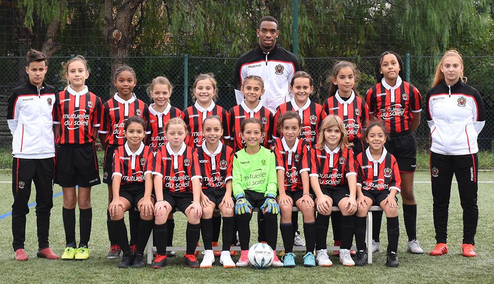 OGC Nice U11 Féminines